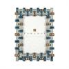 Pomeroy Estrella Frame 4x6, Pearl Blues
