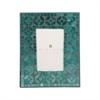 Pomeroy Primavera 4x6 Frame In Azure Shimmer, Azure Shimmer
