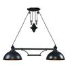 ELK lighting Farmhouse 2 Light Island In Oiled Bronze