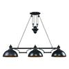 Farmhouse 3 Light Billiard In Oiled Bronze