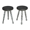 Waterfront Barley Twist Stools