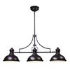 Chadwick 3 Light Billiard In Oiled Bronze