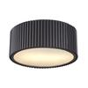 Brendon 2 Light Flushmount In Oil Rubbed Bronze