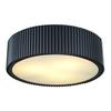 ELK lighting Brendon 3 Light Flushmount In Oil Rubbed Bronze