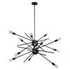 Xenia 12 Light Chandelier In Oil Rubbed Bronze