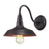 Urban Lodge 1 Light Sconce In Weathered Bronze