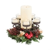 Pomeroy Traditions Centerpiece, Rustic,Clear