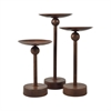 Laredo Set of 3 Pillar Holders