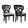 Artifacts Side Chairs In Vintage Noir - Set of 2