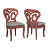 Artifacts Side Chairs In Manor Melon - Set of 2
