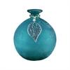 Pomeroy Vale Adorned Vase, Tierra Teal
