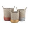 Mixed Metallics Nested Baskets