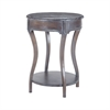 Back Bend Side Table In Heritage Dark Grey Stain