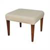 Couture Covers Single Bench Cover - Light Cream
