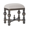 Heathcliff Bench In Heritage Grey Stain