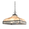 Santa Fe 3 Light Pendant In Tiffany Bronze
