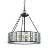 ELK lighting Ethan 3 Light Chandelier In Tiffany Bronze