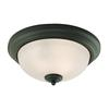 Cornerstone Huntington 3 Light Ceiling Lamp In Oil Rubbed Bronze