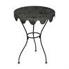 Metal Wine Country Side Table