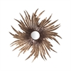 Louise Mirror Battery Bronze