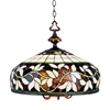 ELK lighting English Ivy 6 Light Chandelier In Tiffany Bronze