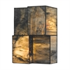 Cubist 2 Light Wall Sconce In Brushed Nickel