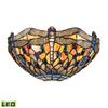 ELK lighting Dragonfly 1 Light LED Wall Sconce In Dark Bronze