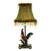 "19"" Petite Rooster Table Lamp in Ainsworth Finish"