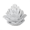 Lazy Susan White Porcelain Artichoke