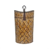 Sterling Harlequin And Tassel Urn