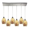 Avalon 6 Light Pendant In Satin Nickel