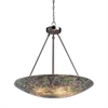 ELK lighting Avalon 5 Light Pendant In Satin Nickel