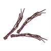 Oxblood Banana Stem Bunch - Set Of 3
