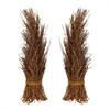 Natural Cocoa Twig Sheaf - Set of 2