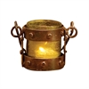 Pomeroy Mission Votive Lantern In Artifact Olive, Montana Rustic,Artifact Olive