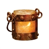 Pomeroy Mission Votive Lantern In Artifact Multi, Montana Rustic,Artifact Multi