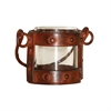 Pomeroy Mission Votive Lantern In Clear, Montana Rustic,Clear