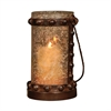 Pomeroy Mission Lantern, Montana Rustic,Artifact Multi