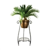 La Forge Planter Stand, Rustic,Clear