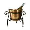 Pomeroy La Forge Beverage Bucket, Rustic,Copper