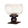 Pomeroy Mission Table Pillar Holder, Montana Rustic,Clear