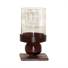 Pomeroy Mission Votive, Montana Rustic,Clear