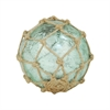 Pomeroy Pescador Decorative 4-Inch Sphere, Azure Artifact,Jute