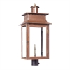 ELK lighting Maryville Outdoor Gas Post Lantern In Aged Copper