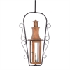 ELK lighting Maryville Outdoor Gas Ceiling Lantern In Aged Copper