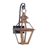 ELK lighting Bayou Outdoor Gas Wall Lantern In Aged Copper