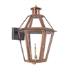 ELK lighting Grande Isle Outdoor Gas Wall Lantern Aged Copper