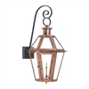 ELK lighting Grande Isle Outdoor Gas Wall Lantern In Aged Copper
