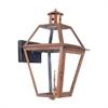 ELK lighting Grande Isle Outdoor Gas Wall Lantern In Aged Copper