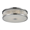 Amersham 4 Light Flush Mount In Chrome